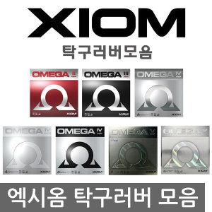 탁구 러버 라바 모음 엑시옴 정품 고무 탁구러버 XIOM