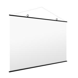 족자형 벽걸이 빔프로젝터 스크린 빔스크린 E-MFS60