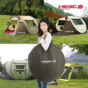 헐크 텐트 원터치자동 캠핑용품 그늘막 지진 재난용품