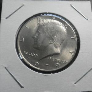 중지 7 미국 1979년 케네디 하프달러 주화(unc)