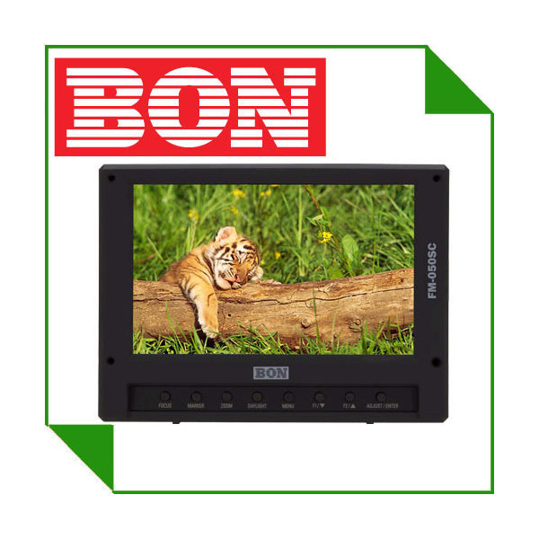 본 FM-052SC 5인치 LCD멀티 HDMI INPUT/SDI IN-OUTPUT