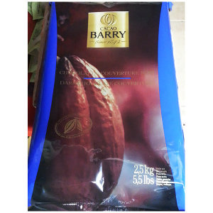 초콜릿(다크 카카오바리 2.5K) 다크초콜릿커버춰