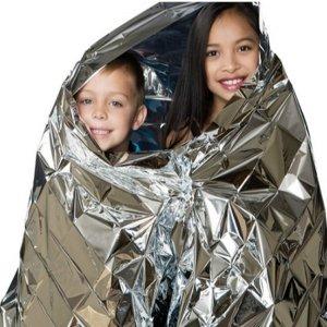 SOS 비상 담요-우의 비옷 지진 전쟁 대비 생존 용품