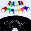 차량용 계기판 T5 T10 LED 전구 12V / T5 화이트