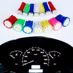 계기판 T5 T10 LED 전구 12V / 개당판매 / 공조기 LED