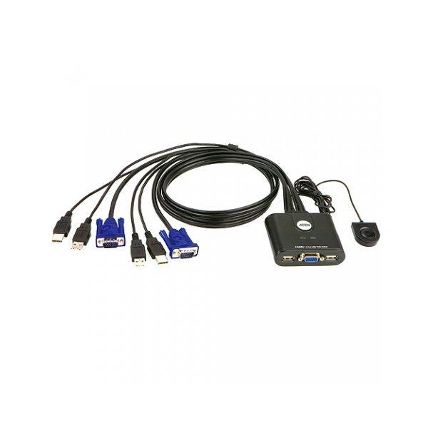 ATEN KVM 케이블 스위치 USB CS22U 모니터공유(보유)