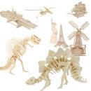 3d 나무퍼즐 입체퍼즐 공룡 건축물