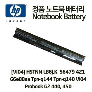 HP 정품배터리 VI04 HSTNN-LB6J 756479-421 G6E88AA
