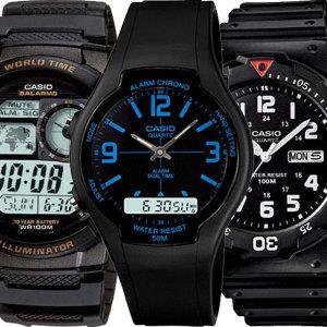 카시오정품 전자손목시계 남자여자 AE-1000W-1A 군인