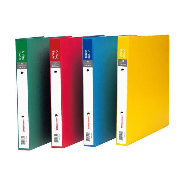 (현대Hmall) 414041 2공O링바인더(색지/8cm/노랑/OfficeDEPOT)