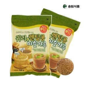 귀리렌틸콩 미숫가루X2봉/당일제조/검은콩/無설탕
