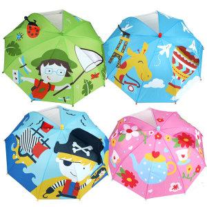 테마 입체우산 /아동우산/ 라벨스티커 /투명우산