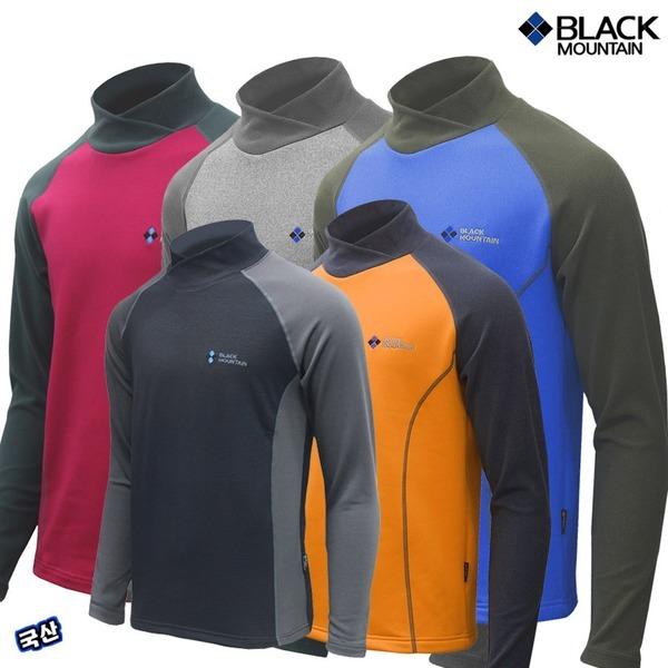 블랙마운틴 폴라 겨울티셔츠(등산티 등산티셔츠