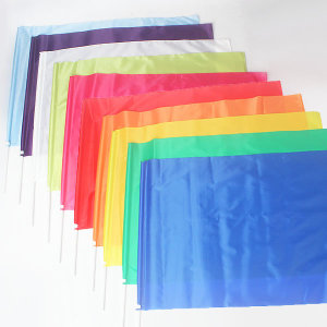 튼튼한 응원깃발(45x65cm) 운동회깃발 청기 깃발춤