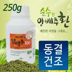 양배추환100 250g 유기농100% 동결건조 양배추가루