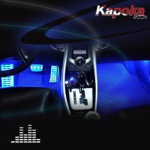 차량용 RGB 풋등 LED바 / 자동차풋등 무드등 LED