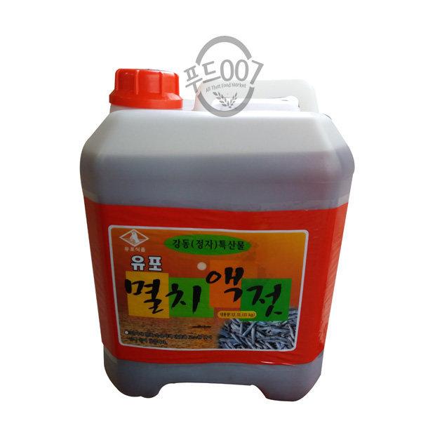 울산 유포 멸치액젓 15kg