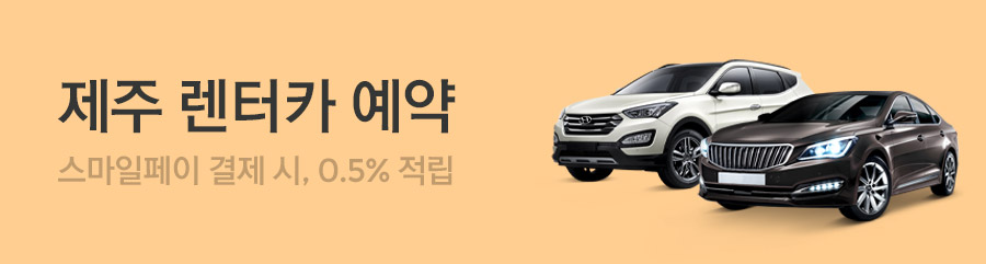 [제주] 실시간 렌터카