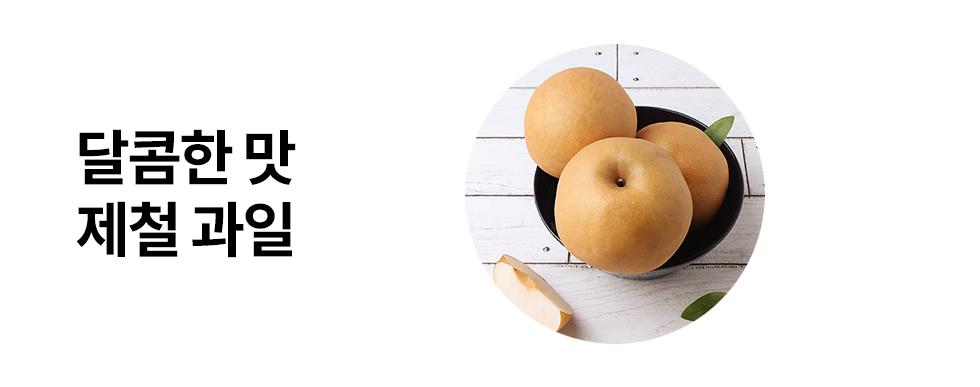 달콤한 제철 과일